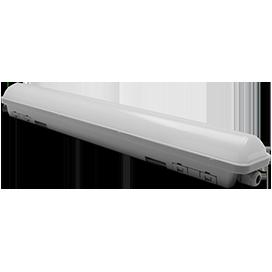 Ecola LED linear IP65 классический линейный светодиодный светильник (замена ЛПО) 18W 220V 6500K 580x60x65 1