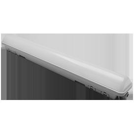 Ecola LED linear IP65 классический линейный светодиодный светильник (замена ЛПО) 36W 220V 6500K 1140x60x65 1