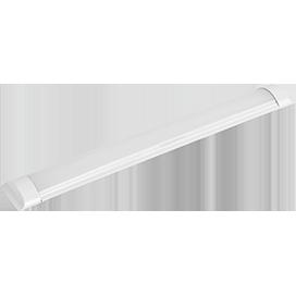 Ecola LED linear IP20 линейный светодиодный светильник (замена ЛПО) 36W 220V 2700K 1200x75x25 1