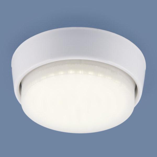 1037 GX53 WH / Светильник накладной белый 1