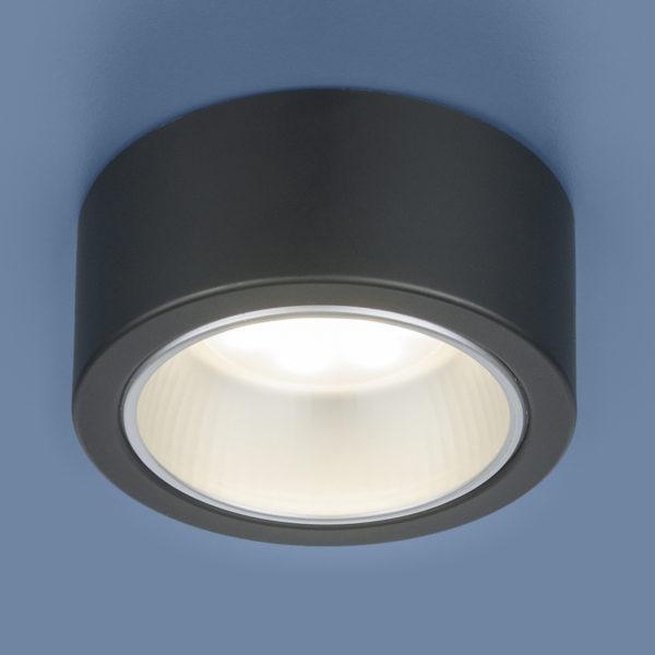 1070 GX53 / Светильник накладной BK черный 1
