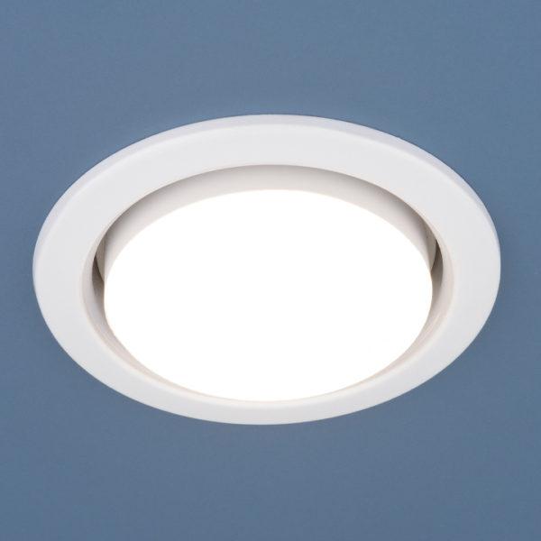 1035 GX53 WH / Светильник встраиваемый белый 1