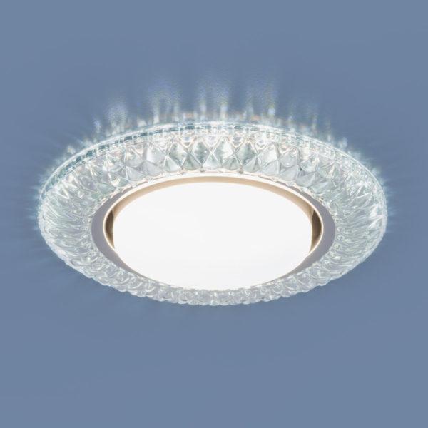 3020 GX53 / Светильник встраиваемый CL прозрачный 1