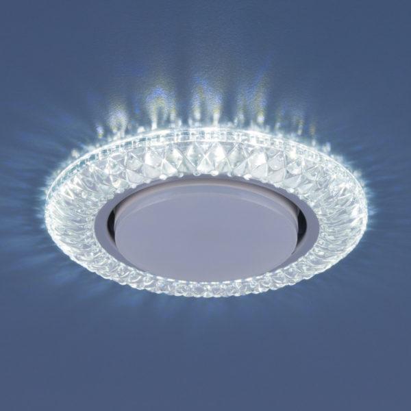 3020 GX53 / Светильник встраиваемый CL прозрачный 2