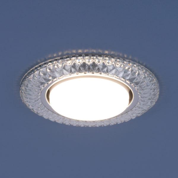 3020 GX53 / Светильник встраиваемый CL прозрачный 3