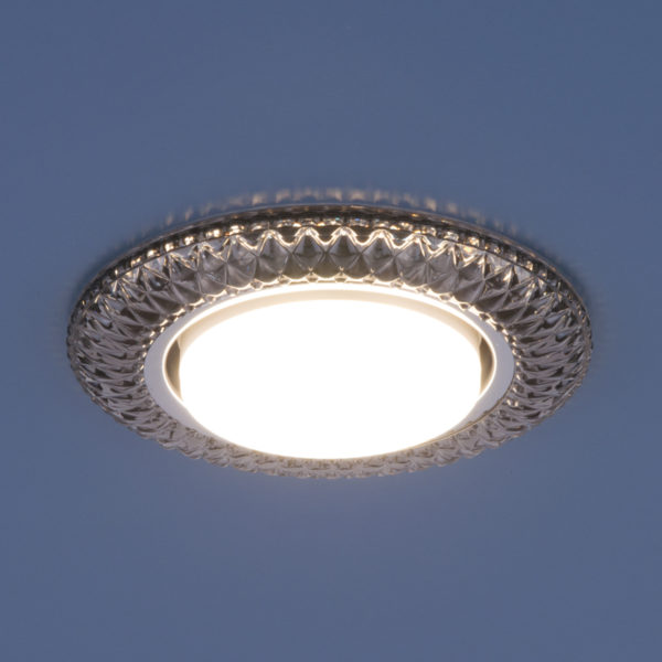 3020 GX53 / Светильник встраиваемый SB дымчатый 3