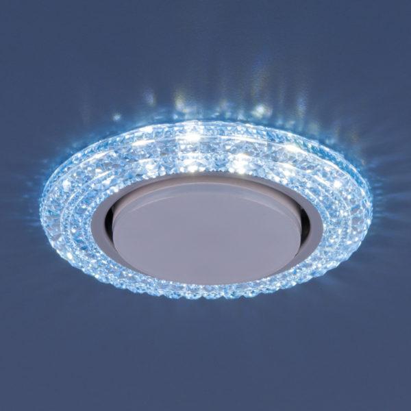 3030 GX53 / Светильник встраиваемый BL синий 2