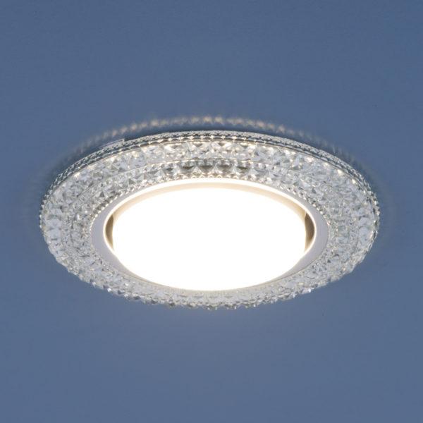 3030 GX53 / Светильник встраиваемый CL прозрачный 2