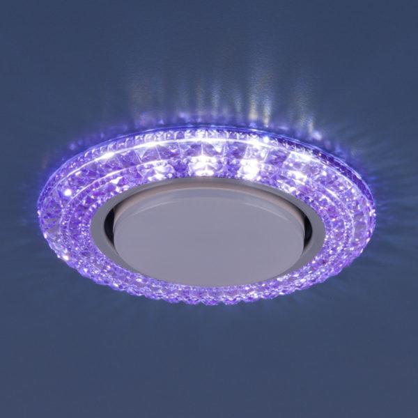 3030 GX53 / Светильник встраиваемый VL фиолетовый 3