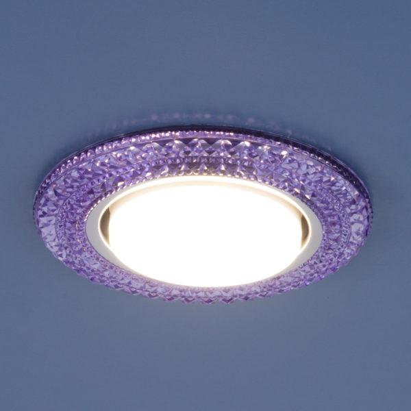 3030 GX53 / Светильник встраиваемый VL фиолетовый 2