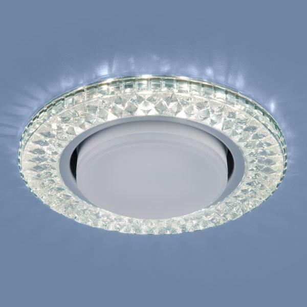 3021 GX53 / Светильник встраиваемый CL прозрачный 2