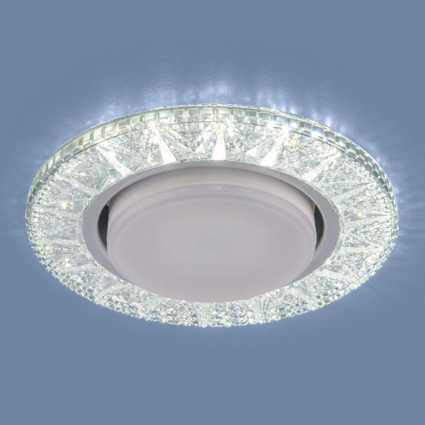 3022 GX53 / Светильник встраиваемый CL прозрачный 3