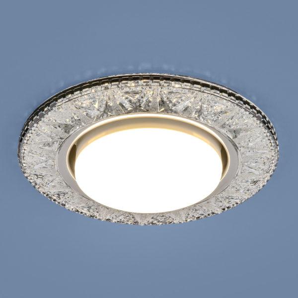 3022 GX53 / Светильник встраиваемый CL прозрачный 2