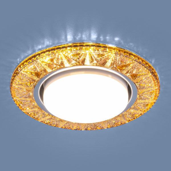 3022 GX53 / Светильник встраиваемый GD золото 1