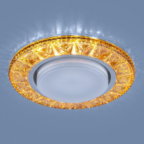 3022 GX53 / Светильник встраиваемый GD золото 3