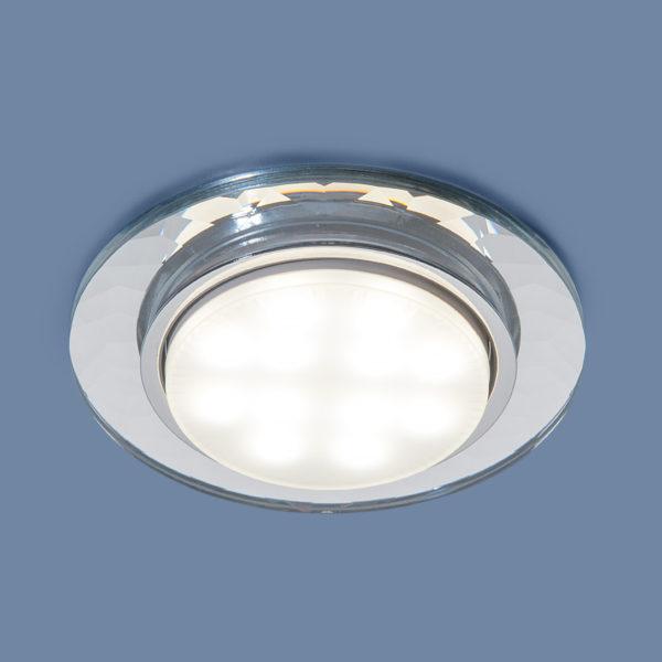 1061 GX53 / Светильник встраиваемый CL прозрачный 1
