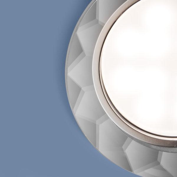 1061 GX53 / Светильник встраиваемый CL прозрачный 2