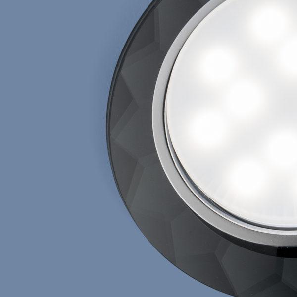 1061 GX53 / Светильник встраиваемый Grey серый 2