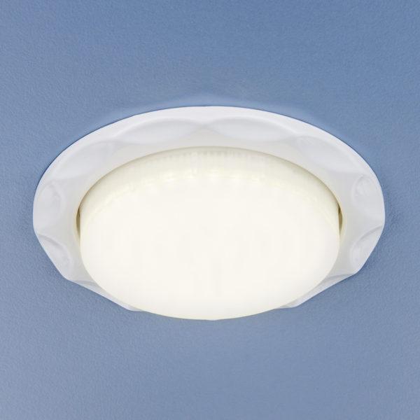 1064 GX53 / Светильник встраиваемый WH белый 1