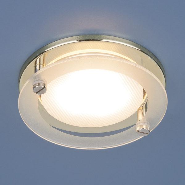 1068 GX53 / Светильник встраиваемый GD золото 1