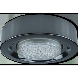Ecola GX53 FT3073 Светильник Накладной Широкий Черный хром 32x130 1