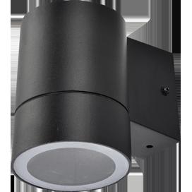 Ecola GX53 LED 8003A светильник накладной IP65 прозрачный Цилиндр металл. 1*GX53 Черный 114x140x90 1