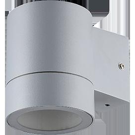 Ecola GX53 LED 8003A светильник накладной IP65 прозрачный Цилиндр металл. 1*GX53 Серый матовый 114x140x90 1