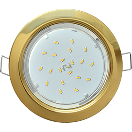 FG53H4ECB Ecola GX53 H4 Downlight without reflector_gold (светильник) 38x106 1