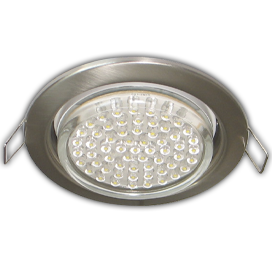 FS5310ECB Ecola GX53 H4 Downlight without reflector_satin chrome (светильник) 38х106 - 10 pack (кd102) 1