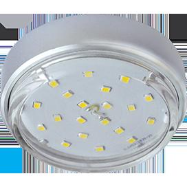Ecola GX53 DGX5318 Накладной Легкий Серебро (светильник) 18x88 1