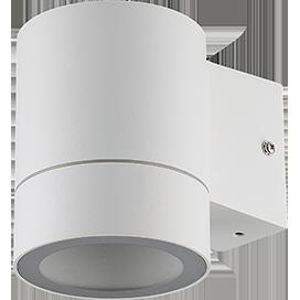Ecola GX53 LED 8003A светильник накладной IP65 прозрачный Цилиндр металл. 1*GX53 Белый матовый 114x140x90 1
