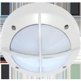 Ecola GX53 LED B4143S светильник накладной IP65 матовый Круг с решеткой алюмин. 1*GX53 Белый 145x145x65 1
