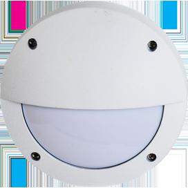 Ecola GX53 LED B4140S светильник накладной IP65 матовый Круг с ресничкой алюмин. 1*GX53 Белый 145x145x65 1