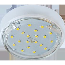 Ecola GX53 DGX5318 Накладной Легкий Белый (светильник) 18x88 1