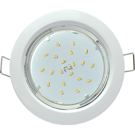FW53H4ECB Ecola GX53 H4 Downlight without reflector_white (светильник) 38x106