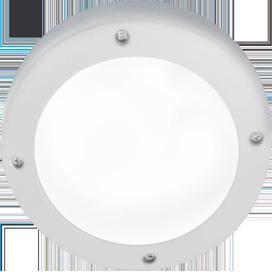 Ecola GX53 LED B4139S светильник накладной IP65 матовый Круг алюмин. 1*GX53 Белый 145x145x65 1