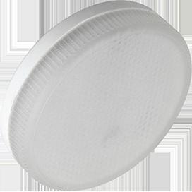 Ecola Light GX53 LED  6,0W Tablet 220V 2800K 27x75 матовое стекло 30000h (1 из ч/б уп. по 10) 1
