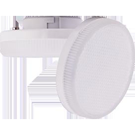 Ecola Light GX53 LED  8,0W Tablet 220V 2800K 27x75 матовое стекло 30000h (1 из ч/б уп. по 10) 1