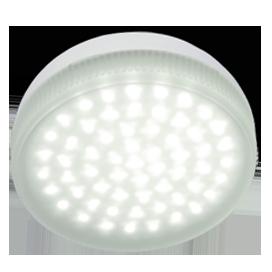 Ecola Light GX53 LED  4,2W Tablet 220V 4200K 27x75 матовое стекло 30000h 1