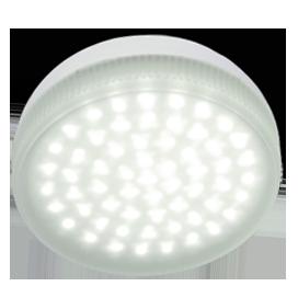 T5MW42ELC Ecola Light GX53 LED  4,2W Tablet 220V 2800K 27x75 матовое стекло 30000h 1