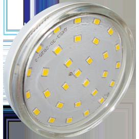 T5TW60ELC Ecola Light GX53 LED  6,0W Tablet 220V 2800K 27x75 прозрачное стекло 30000h 1
