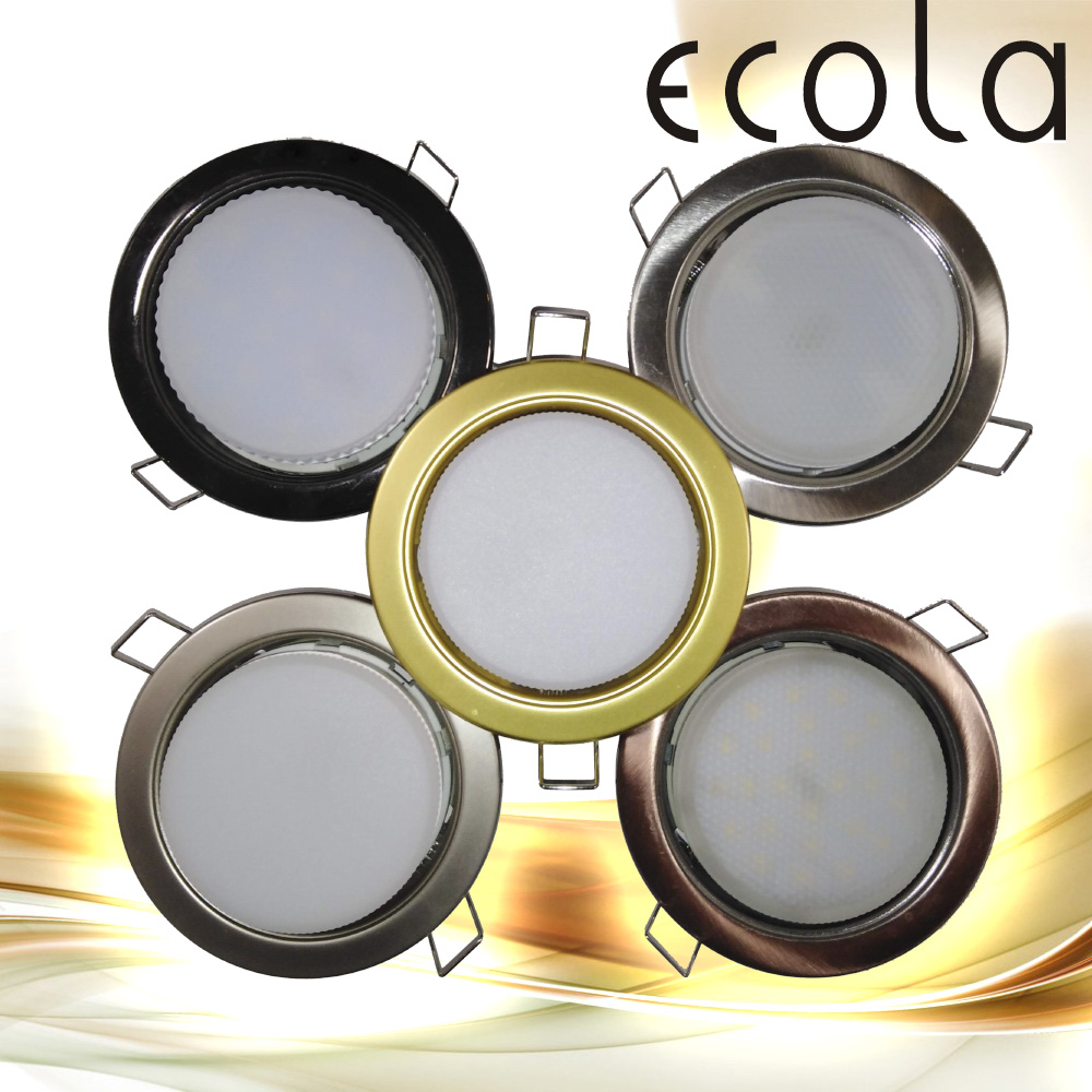Ecola (Экола) светильники GX53