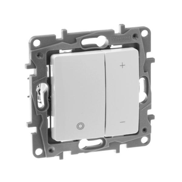 Светорегулятор нажимной - Etika - 400 Вт - белый 1