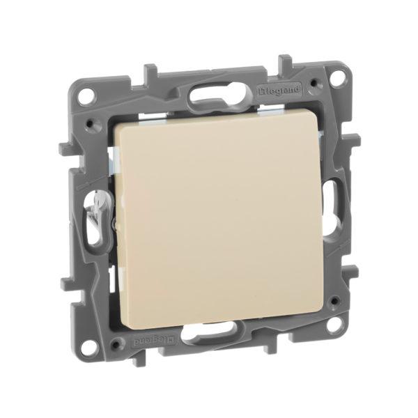 Переключатель одноклавишный - Etika - 10 AX - 250 В~ - слоновая кость 1